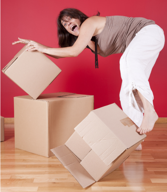 Coping with the stress of moving